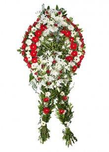 Kırmızı Hüzün Cenaze Çelengi